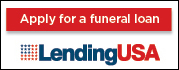 Apply for a funeral loan at LendingUSA